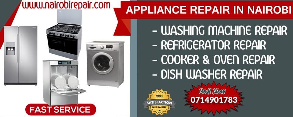 Nairobi residential appliance repair services