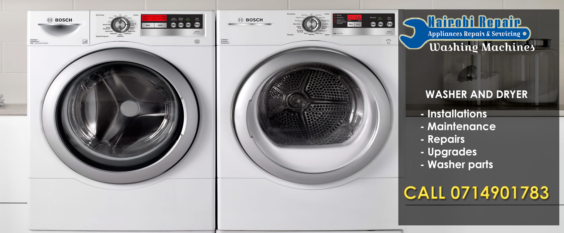 Home appliance repair services in Nairobi
