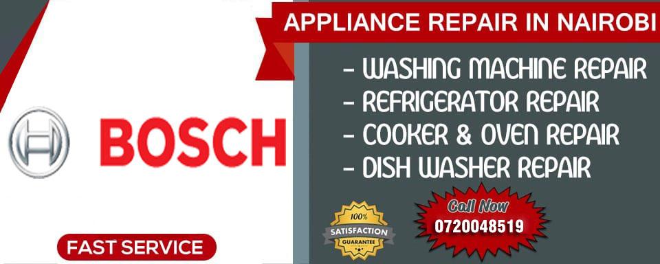 BOSCH Appliance Repair Nairobi - Nairobi, Kenya