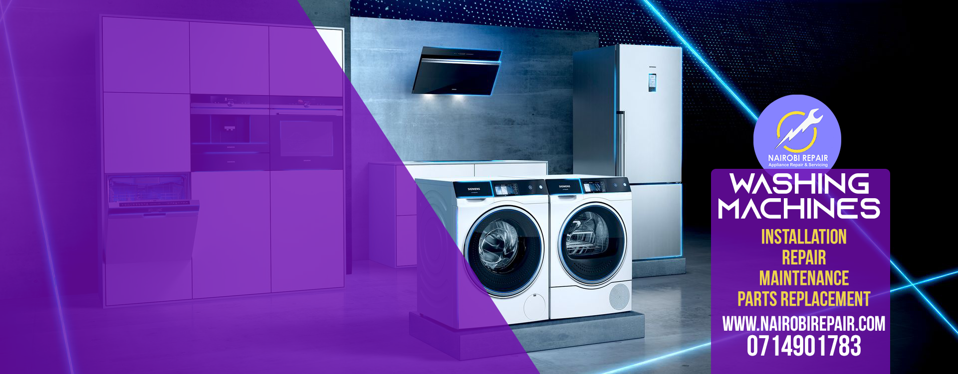 WASHING MACHINE REPAIR IN NAIROBI 0714901783 - Nairobi, Kenya